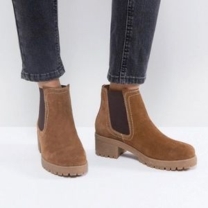 ASOS Suede Chelsea Boots